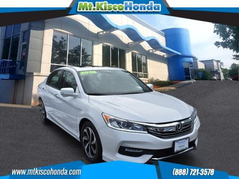 Certified Pre-Owned 2016 Honda Accord Sedan 4dr I4 CVT EX-L