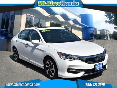 Certified Pre-Owned 2016 Honda Accord Sedan 4dr V6 Auto EX-L